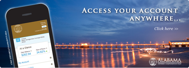 Access your account anywhere... Click here