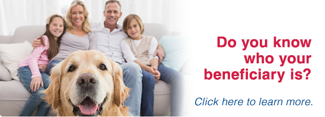 Do you know who your beneficiary is? Click here for more information.