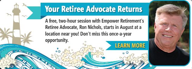 Your Retiree Advocate Returns