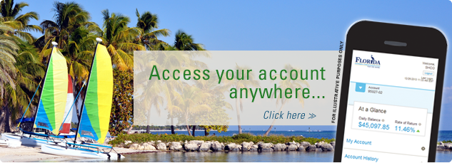Access your account anywhere. Click here.