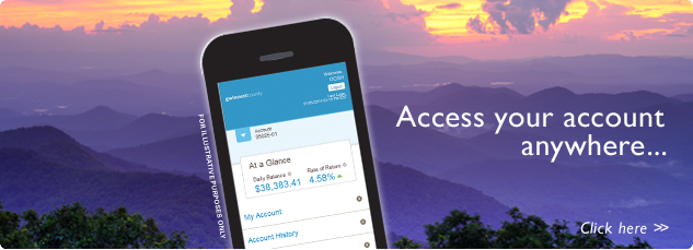 Access Your Account Anywhere. click here...