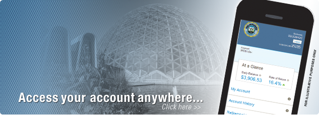 Access your account anywhere... click here...