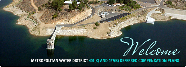 Welcome Metropolitan Water District 401k and 457b deferred compensation plans.