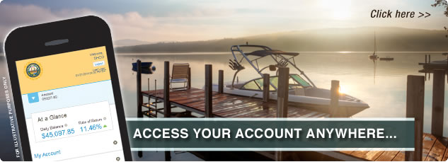 Access Your Account Anywhere... click here.