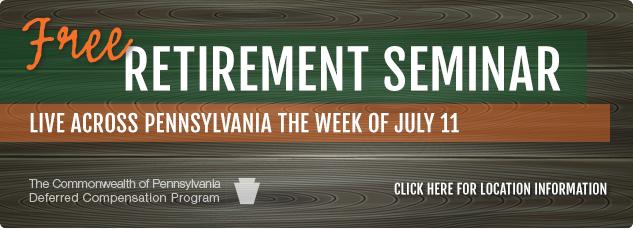 Free Retirement Seminar.