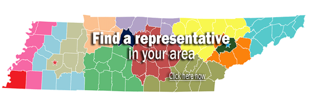 Find a representative in your area. Click here now